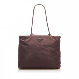 Prada Tote dark brown nylon