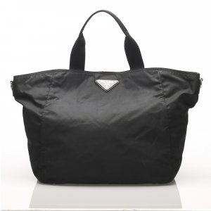 Prada Reistas zwart Nylon