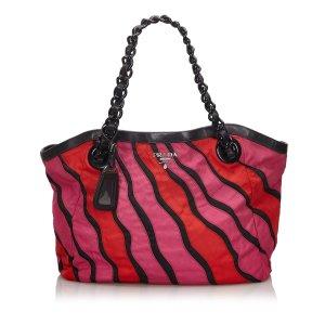 Prada Tessuto Waves Shoulder Bag