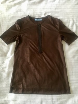 Prada Blouse Top dark brown