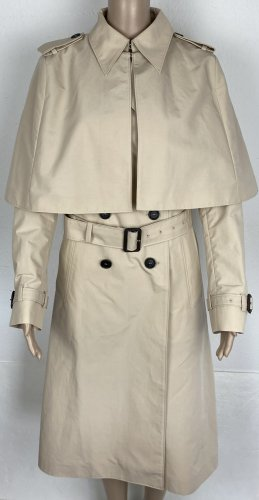 Prada, Trenchcoat mit abknöpfbarem Schultercape, Coloniale, It. 42 (38/US 8), neu, € 1.650,-
