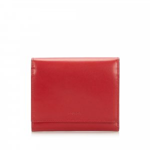 Prada Trifold Leather Small Wallet