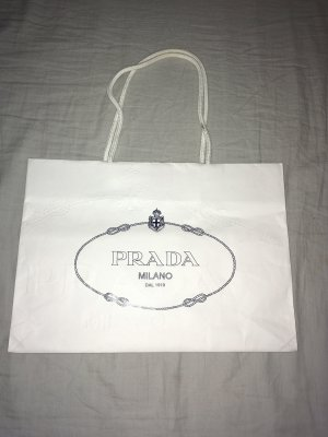 Prada Shopper wit