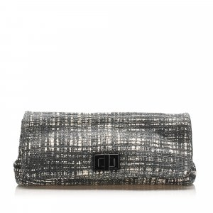 Prada Tweed Clutch Bag