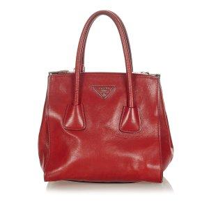 Prada Handbag red leather