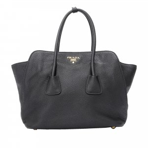 Prada Twin Pocket Leather Handbag