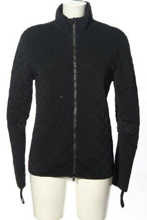 Prada Between-Seasons Jacket black quilting pattern casual look