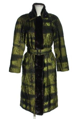 Prada Übergangsmantel grün-schwarz Farbverlauf Elegant