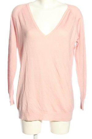 Prada V-Ausschnitt-Pullover pink Casual-Look
