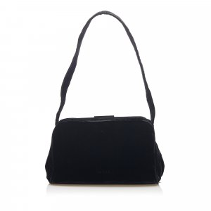 Prada Velvet Shoulder Bag