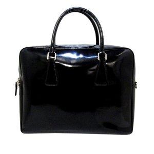 Prada Business Bag black imitation leather