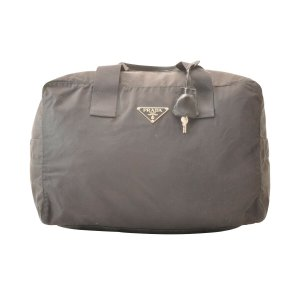 Prada Handbag black textile fiber