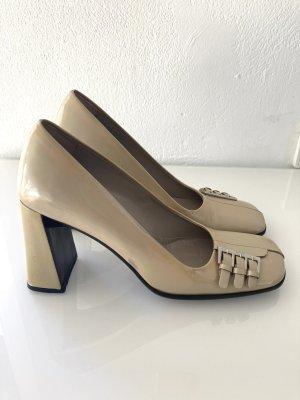 Prada Vintage Lack High Heels 37