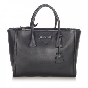 Prada Satchel black leather