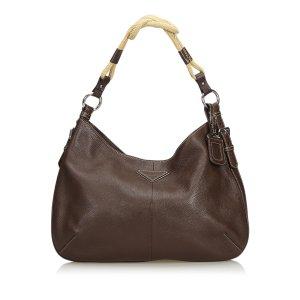 Prada Vitello Daino Hobo Bag