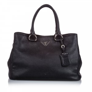 Prada Vitello Daino Leather Satchel