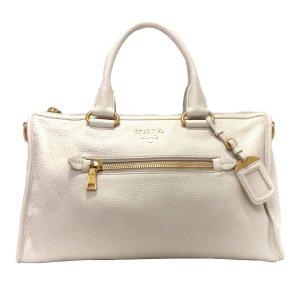 Prada Satchel white leather