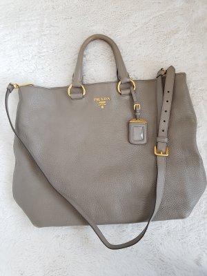 Prada Shopper gold-colored-light grey