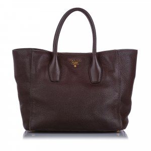 Prada Vitello Daino Tote Bag
