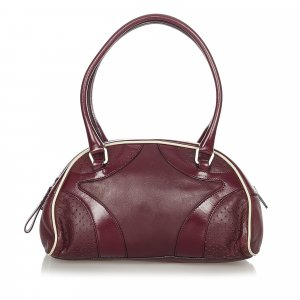 Prada Vitello Drive Bowler Handbag