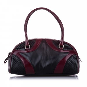Prada Vitello Drive Leather Handbag