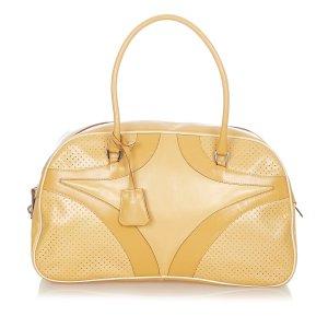 Prada Vitello Drive Leather Handbag