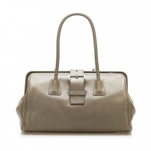 Prada Vitello Fibbia Handbag