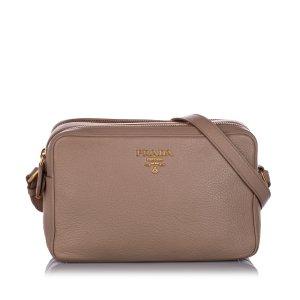 Prada Vitello Phenix Crossbody Bag