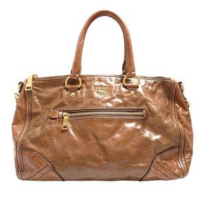 Prada Handbag brown leather
