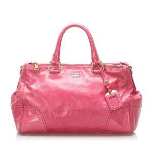 Prada Satchel pink imitation leather