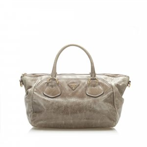 Prada Vitello Shine Satchel