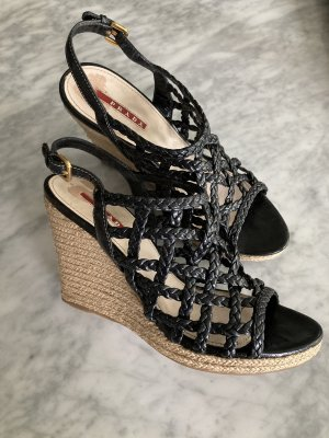 PRADA  WEDGES GR. 38  !