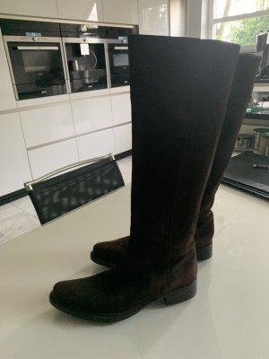 Prada Boots western brun foncé