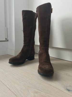 Prada Winter Boots brown leather