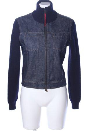 Prada Wolljacke blau Casual-Look