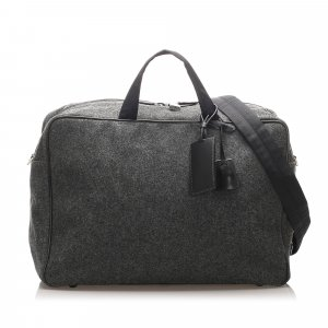 Prada Wool Business Bag