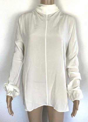 Prada Blusa in seta bianco sporco Seta