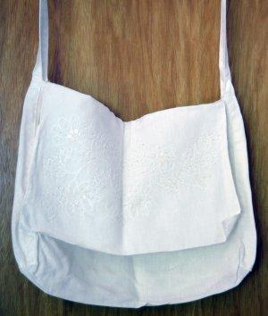 Borsellino bianco Cotone