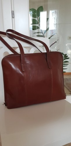 Briefcase brown leather