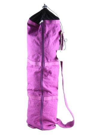 Prana Sac de sport violet-noir style décontracté