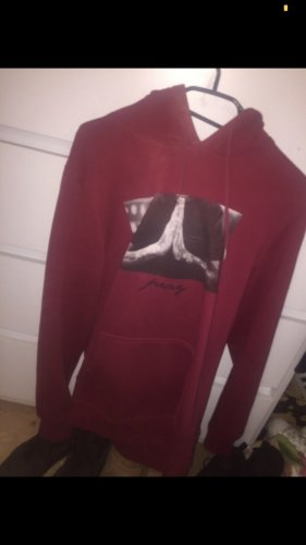 Snipes Sweter z kapturem ciemnoczerwony-głęboka czerwień