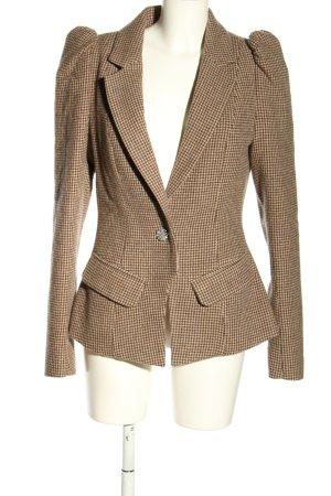 Preen By Thornton Bregazzi Blazer de lana marrón-nude estilo «business»