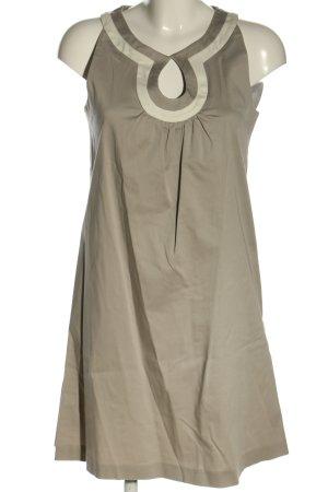 Prego A-Linien Kleid hellgrau-wollweiß Casual-Look