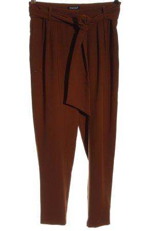 Prego Baggy broek bruin casual uitstraling