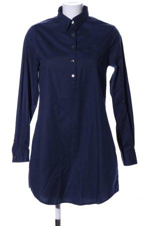Prego Blusenkleid blau Business-Look
