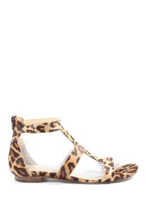 Prego Comfortabele sandalen luipaardprint casual uitstraling