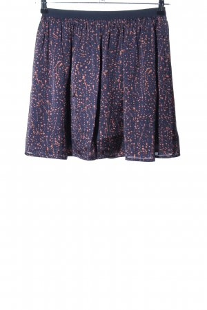 Prego Miniskirt blue-nude abstract pattern casual look