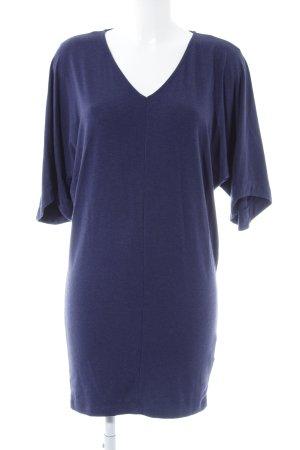 Prego Oversized Shirt grauviolett meliert Casual-Look