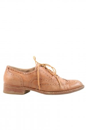 Prego Chaussure Oxford brun style d'affaires