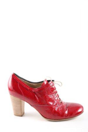 Prego Aanrijg Pumps rood elegant